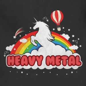 Heavy Metal (Unicorn and Rainbow) Women's T-Shirts - Adjustable Apron