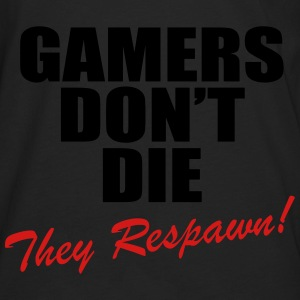 Gamers Don't Die, They Respawn! Hoodies - Men's Premium Long Sleeve T-Shirt