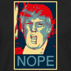 donald trump nhope - Men's Premium Long Sleeve T-Shirt