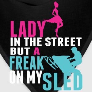 Lady In The Street But A Freak On My Sled - Bandana