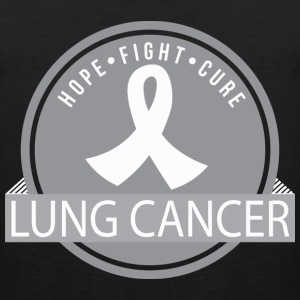 Lung Cancer Hope Fight Cure T-Shirts - Men's Premium Tank