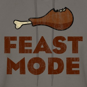 Feast Mode Funny Thanksgiving T-Shirts - Men's Hoodie