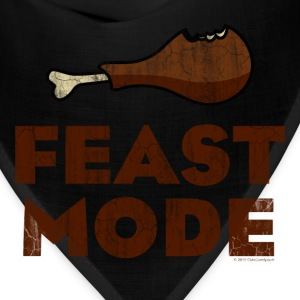 Feast Mode Funny Thanksgiving T-Shirts - Bandana