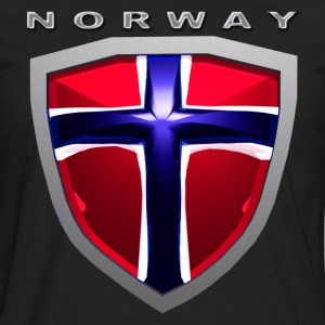 Norway Shield T-Shirts - Men's Premium Long Sleeve T-Shirt