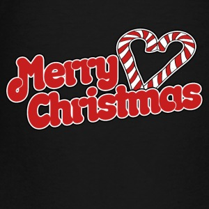Merry Christmas cute candy cane - Toddler Premium T-Shirt