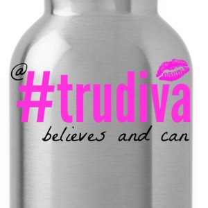 A TruDiva Believes & Can Tee - Heather Grey - Water Bottle