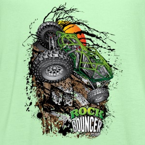 Rock Bouncer Sunset Grn T-Shirts - Women's Flowy Tank Top by Bella