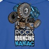 rock bouncing manic blue Hoodies - Men's Hoodie