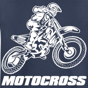 Motocross Logo White Kids' Shirts - Toddler Premium T-Shirt