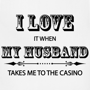 I Love It When My Husband Takes Me To The Casino Women's T-Shirts - Adjustable Apron