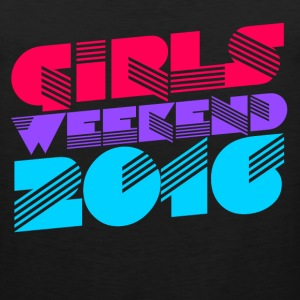 Girls weekend 2016 - Men's Premium Tank