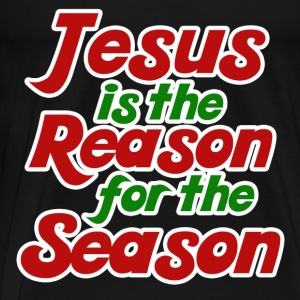 Jesus is the reason for the season  - Men's Premium T-Shirt