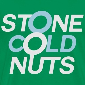 Stone Cold Nuts - Green Hoodie - Men's Premium T-Shirt