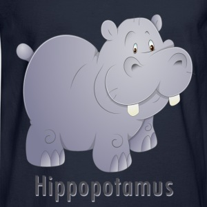 Hippopotamus Sweatshirts - Men's Long Sleeve T-Shirt