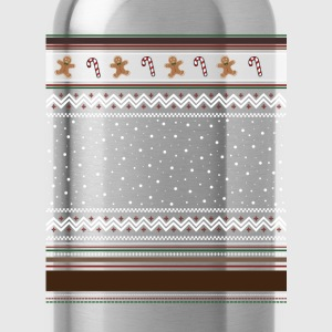 Gettin' Fat For ChristmasTshirt T-Shirts - Water Bottle