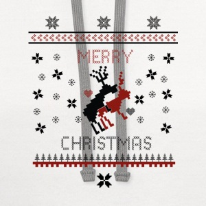 Merry Fuck Christmas T-Shirts - Contrast Hoodie