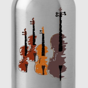 Quartet of bowed string instruments Women's T-Shirts - Water Bottle