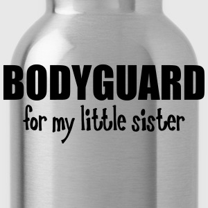 Bodyguard For My Little Sister Kids' Shirts - Water Bottle