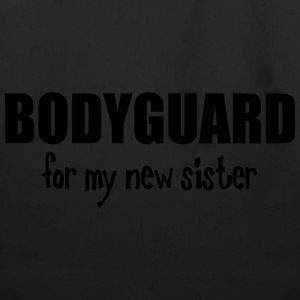 Bodyguard For My New Sister Kids' Shirts - Eco-Friendly Cotton Tote