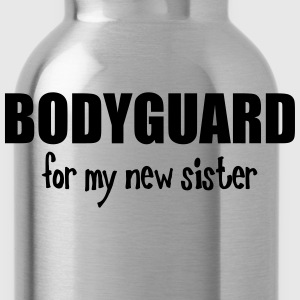 Bodyguard For My New Sister Kids' Shirts - Water Bottle