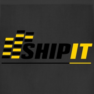 Ship It - Black Shirt - Adjustable Apron