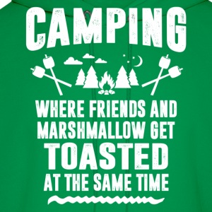 Camping - Where Friends And Marshmallow Get.... T-Shirts - Men's Hoodie