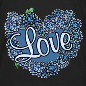 Love blue floral wedding - Men's Premium Long Sleeve T-Shirt