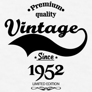 Premium Quality Vintage Since 1952 Limited Edition Mugs & Drinkware - Men's T-Shirt