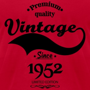 Premium Quality Vintage Since 1952 Limited Edition Long Sleeve Shirts - Men's T-Shirt by American Apparel
