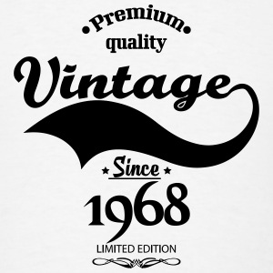 Premium Quality Vintage Since 1968 Limited Edition Mugs & Drinkware - Men's T-Shirt