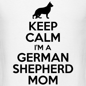 German Shepherd Mom Tanks - Men's T-Shirt