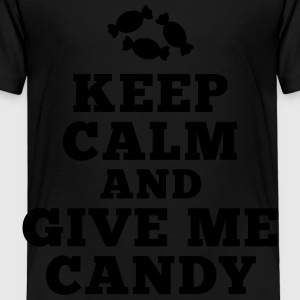 keep calm give me candy Kids' Shirts - Toddler Premium T-Shirt
