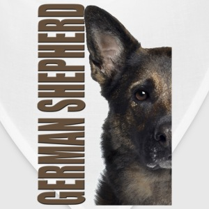 German Shepherd Hoodies - Bandana