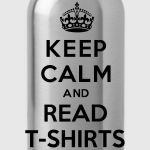 Keep Calm And Read T-Shirts Kids' Shirts - Water Bottle
