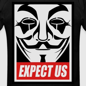 Anonymous Hoodies - Men's T-Shirt