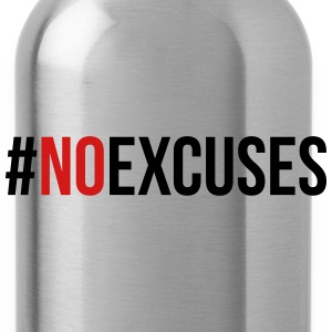 No Excuses  Caps - Water Bottle
