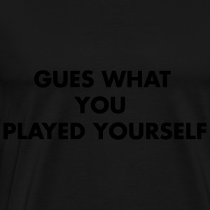 PLAYED YOURSELF Long Sleeve Shirts - Men's Premium T-Shirt