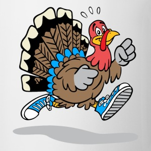 Running Turkey - Coffee/Tea Mug