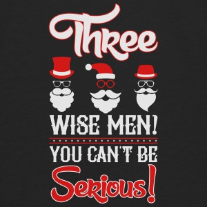 Three wise men-You can-t be serious_2c.ai Baby Bodysuits - Men's Premium Long Sleeve T-Shirt