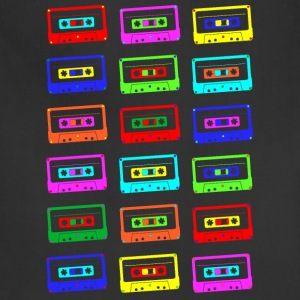 Colourful Cassette Tapes Shirt - Adjustable Apron