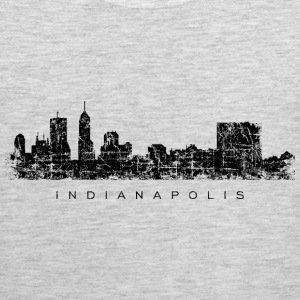 Indianapolis Skyline T-Shirt (Men/Gray) - Men's Premium Tank