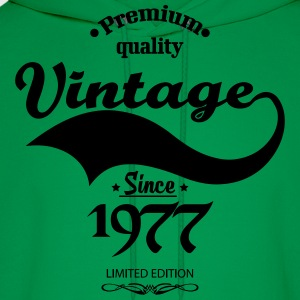 Premium Quality Vintage Since 1977 Limited Edition T-Shirts - Men's Hoodie