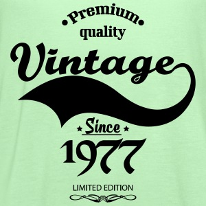 Premium Quality Vintage Since 1977 Limited Edition T-Shirts - Women's Flowy Tank Top by Bella