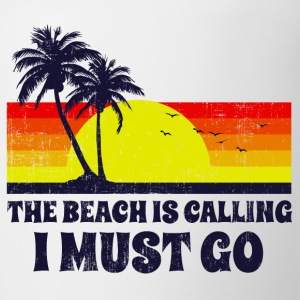 The Beach Is Calling T-Shirts - Coffee/Tea Mug