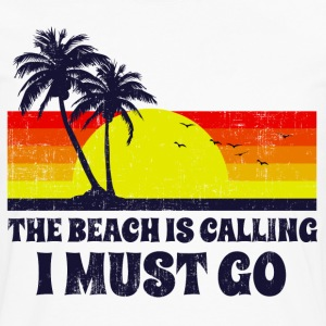 The Beach Is Calling T-Shirts - Men's Premium Long Sleeve T-Shirt
