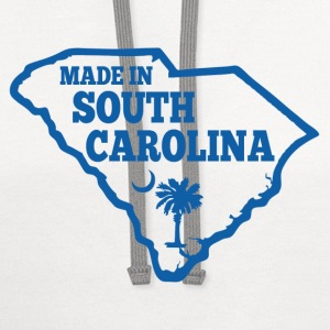 made in south carolina T-Shirts - Contrast Hoodie