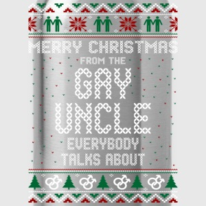 Merry Christmas Gay Uncle Everybody Talks About - Water Bottle