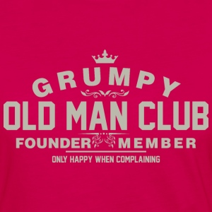 Grumpy Old Man Club Founder Member Complaining - Women's Premium Long Sleeve T-Shirt