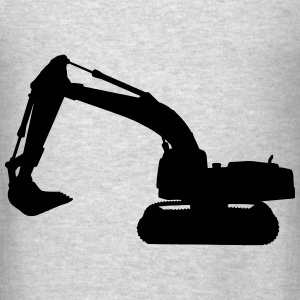 excavator Hoodies - Men's T-Shirt