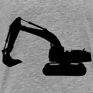 excavator Hoodies - Men's Premium T-Shirt